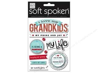 Me & My Big Ideas Soft Spoken Stickers I Love My Grandkids