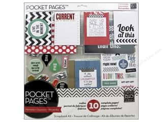 """Scrapbooking Sale Me & My Big Ideas Kits: Me&My Big Ideas Page Kit 12""""x 12"""" Pocket Pages Today Live In The Moment"""
