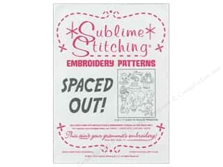 Sublime Stitching: Sublime Stitching Embroidery Transfers Spaced Out