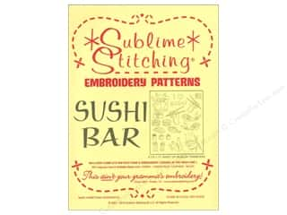 Sublime Stitching: Sublime Stitching Embroidery Transfers Sushi Bar