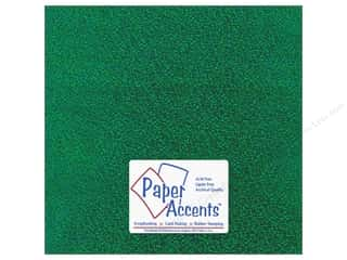 Paper Accents Adhesive Vinyl 12 x 12 in. Removable Sparkle Green