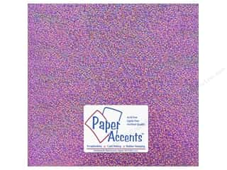 Paper Accents Adhesive Vinyl 12 x 12 in. Removable Sparkle Pink