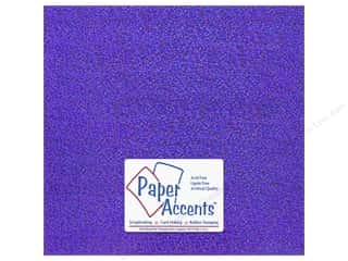 Paper Accents Adhesive Vinyl 12 x 12 in. Removable Sparkle Purple