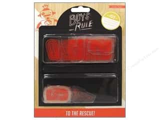 Weekly Specials Crate Paper: Crate Paper Embellishments Boys Rule Plastic Letters