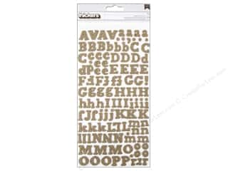 clearance American Crafts Thickers Stickers: American Crafts Thickers Alphabet Stickers DIY Shop Eric Burlap