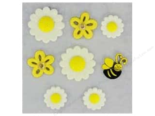craft & hobbies: Jesse James Dress It Up Embellishments Creative Collection Daisy