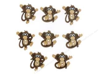 scrapbooking & paper crafts: Jesse James Dress It Up Embellishments Sew Cute Monkeys