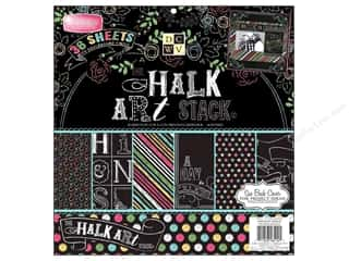 Weekly Specials Scrapbooking Organizers: Die Cuts With A View 12 x 12 in. Cardstock Mat Stack Chalk Art