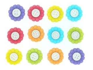 Jesse James Embellishments - Sew Cute Sunflowers