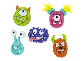 craft & hobbies: Jesse James Dress It Up Embellishments Mad for Monsters