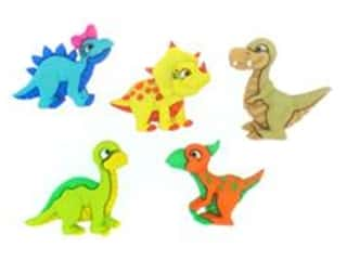 craft & hobbies: Jesse James Embellishments - Dino-Mite