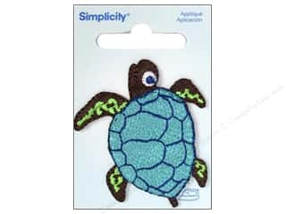 Simplicity Applique Iron On Sea Turtle