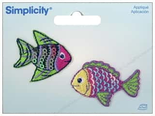 Simplicity Applique Iron On Fish