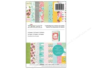 "Spring Paper: Pebbles Paper Pad Garden Party 5.5""x 8.5"" 36pc"