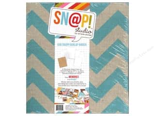 Simple Stories: Simple Stories SN@P! Burlap Binder  6 x 8 in. Teal