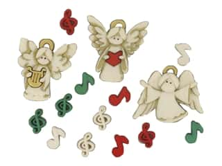 novelties: Jesse James Embellishments - A Choir of Angels