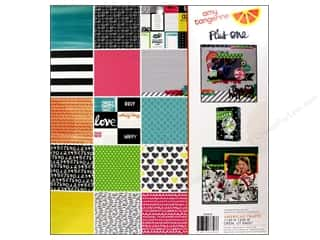 Scrapbooking & Paper Crafts  Papers : American Crafts Paper Pad 12 x 12 in. Amy Tangerine Plus One