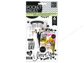 scrapbooking & paper crafts: Me&My Big Ideas Sticker Sticks Flip Pack Clear Black