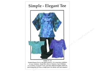 books & patterns: CNT Pattern Co. Simple Elegant Tee Pattern