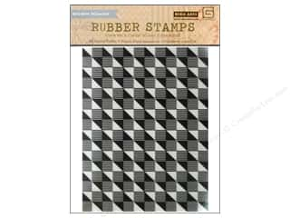Rubber Stamps: BasicGrey Rubber Stamp Highline Geometric Background