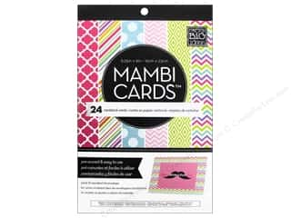 Clearance Me And My Big Ideas Envelopes: Me & My Big Ideas Cards In An Instant A6 Brights