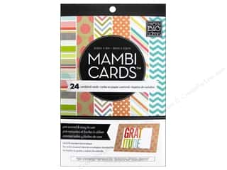 Clearance Me And My Big Ideas Envelopes: Me & My Big Ideas Cards In An Instant A6 Designer Colors