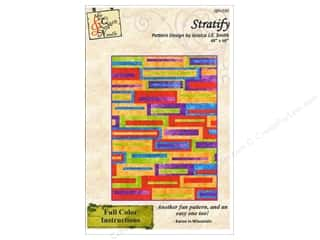 Patterns Clearance: QuiltWoman.com Stratify Pattern