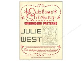 Sublime Stitching: Sublime Stitching Embroidery Transfers Julie West
