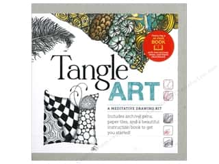 projects & kits: Quarry Tangle Art A Meditative Drawing Kit With Book