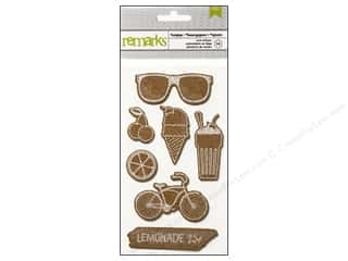 theme stickers  summer: American Crafts Cork Stickers #Summer Sodapop
