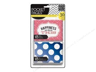 Clearance Me And My Big Ideas Mini Envelopes: Me & My Big Ideas Pocket Pages Cards Specialty Happiness Is This