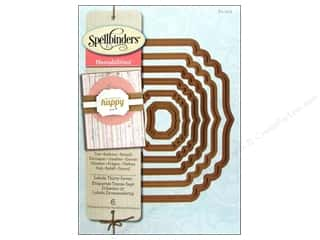 die cuts: Spellbinders Nestabilities Die Labels Thirty Seven