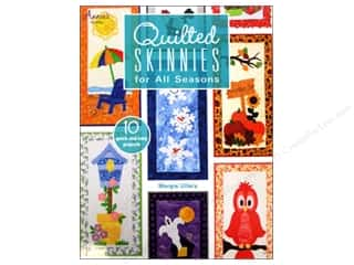 Annie's Quilted Skinnies For All Seasons Book by Margie Ullery