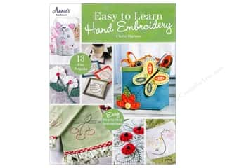 Annie's Easy To Learn Hand Embroidery Book by Chris Malone