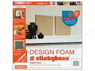 "Fairfield Design Foam Rigid 12""x 12""x .5"" 2pc"