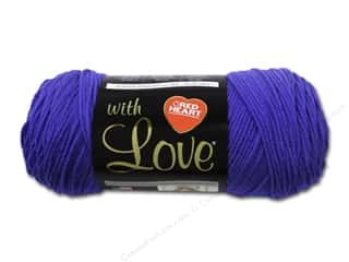 yarn & needlework: Red Heart With Love Yarn #1546 Iris 370 yd.