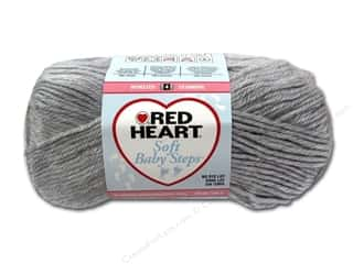 Clearance Red Heart Baby Clouds Yarn: Red Heart Soft Baby Steps Yarn #9401 Elephant 256 yd.