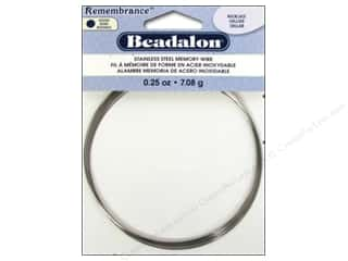 beading & jewelry making supplies: Beadalon Remembrance Memory Wire Necklace .25 oz. Bright