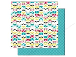 Echo Park Paper Company: Echo Park 12 x 12 in. Paper Capture Life Collection Chevrons (25 sheets)