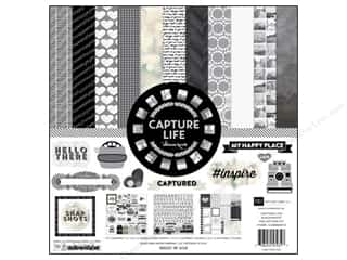Weekly Specials Echo Park Collection Kit: Echo Park 12 x 12 in. Collection Kit Capture Life Black & White