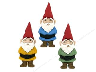 craft & hobbies: Jesse James Dress It Up Embellishments Garden Gnomes