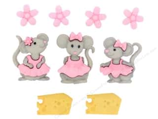 craft & hobbies: Jesse James Dress It Up Embellishments The Mice Girls