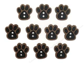 Novelty Buttons: Jesse James Dress It Up Embellishments Sew Cute Paws