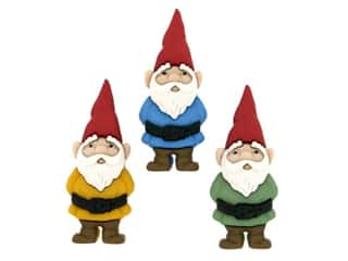 novelties: Jesse James Embellishments - Garden Gnomes