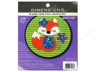 die cuts: Dimensions Applique Kit Little Fox