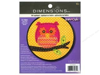 die cuts: Dimensions Applique Kit Little Owl