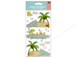 scrapbooking & paper crafts: Jolee's Boutique Vellum Stickers Waves and Sand