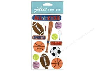 Jolee's Boutique Stickers Large All Star