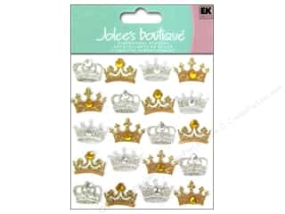 Jolee's Boutique Stickers Crowns Repeat