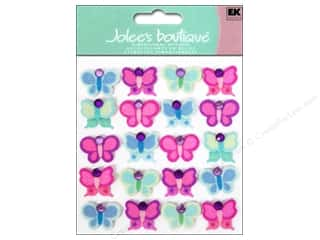 scrapbooking & paper crafts: Jolee's Boutique Stickers Bright Butterflies Repeats